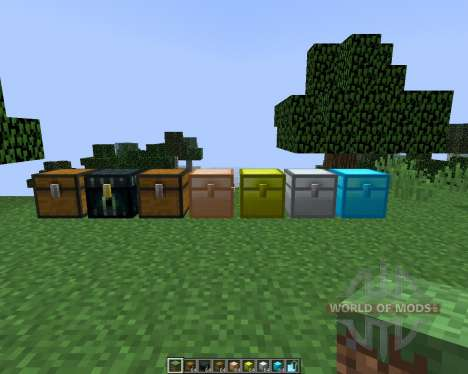 Iron Chests [1.8] for Minecraft