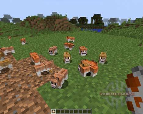 Invincible Hamster [1.7.2] for Minecraft