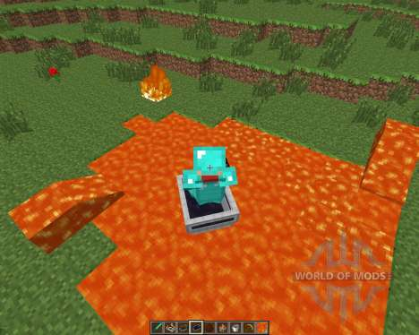 LavaBoat [1.6.4] for Minecraft
