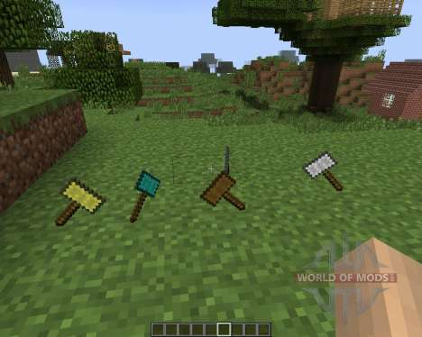 Hammers [1.7.2] for Minecraft