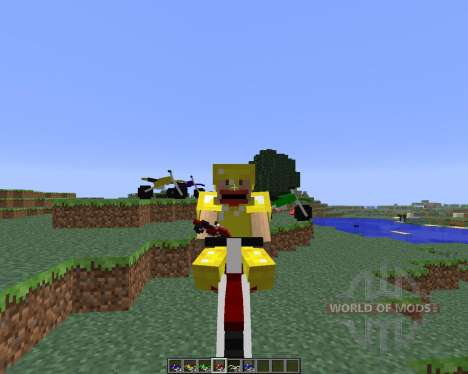 The Dirtbike [1.6.4] for Minecraft