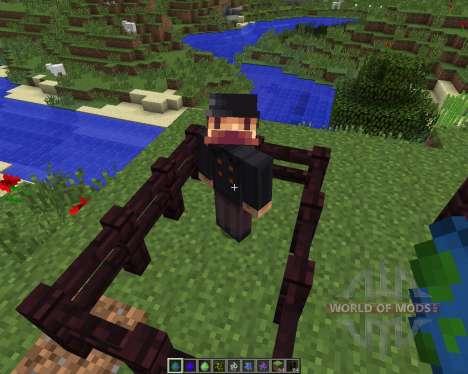 Herobrine [1.7.2] for Minecraft
