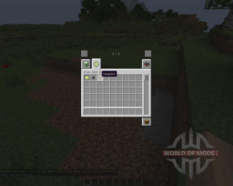 Slingshot [1.7.2] for Minecraft