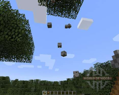 Whole Tree Axe [1.7.2] for Minecraft