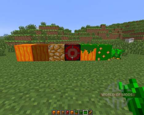 Carrot Dimension [1.6.4] for Minecraft