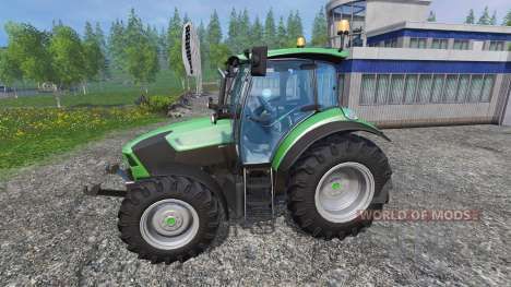Deutz-Fahr 5110 TTV v1.2.1 for Farming Simulator 2015