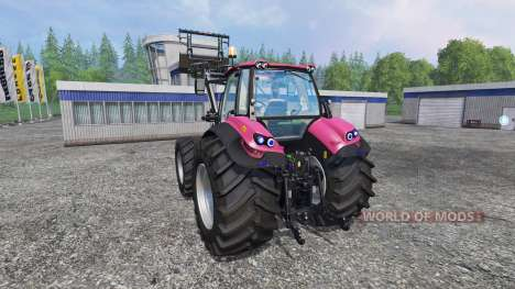 Deutz-Fahr Agrotron 7250 Forest Queen v2.0 pink for Farming Simulator 2015