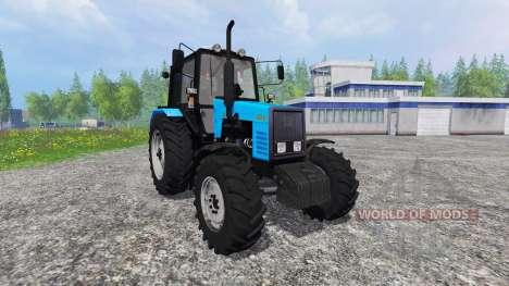 MTZ-1221.2 v2.0 for Farming Simulator 2015