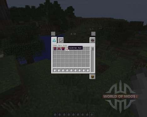 Spider Man [1.7.2] for Minecraft
