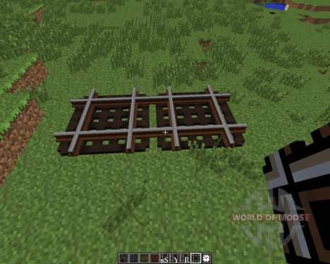 Rails of War Mod [1.6.4] for Minecraft