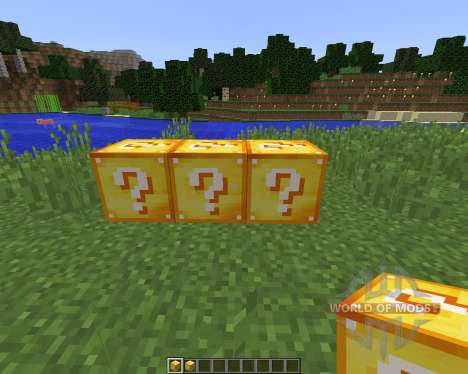Lucky Block [1.8] for Minecraft