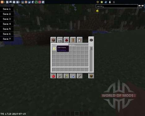 Glowstone Wire for Minecraft