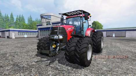 Case IH Puma CVX 230 v4.0 TwinWheels Forest for Farming Simulator 2015