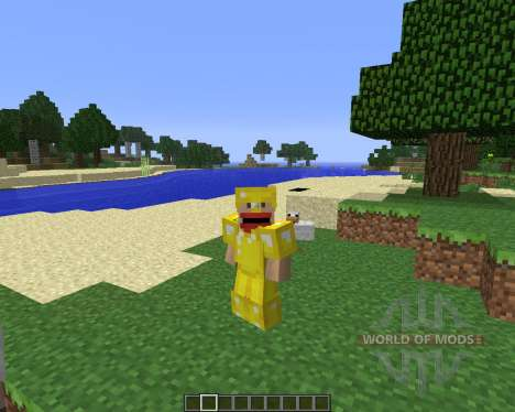 Animated Player [1.6.4] for Minecraft