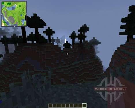 Xaeros Minimap [1.8] for Minecraft