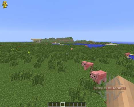 Character On GUI [1.6.4] for Minecraft