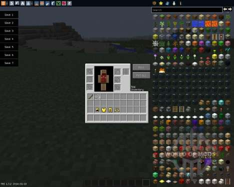 Rpg Inventory [1.7.2] for Minecraft