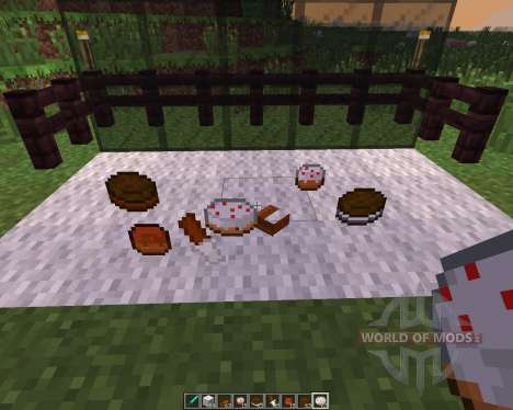 Pastries [1.7.10] for Minecraft