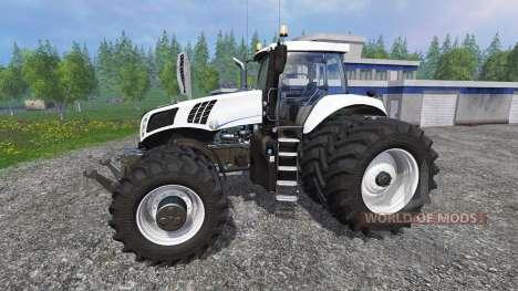 New Holland T8.320 Dynamic8 v1.1 for Farming Simulator 2015