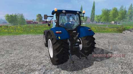 New Holland T7.270 blue power for Farming Simulator 2015