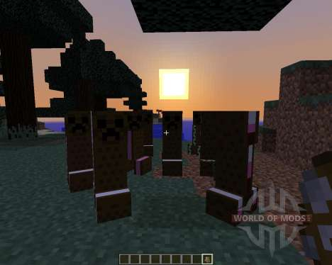 The Ice Cream Sandwich Creeper [1.8] for Minecraft