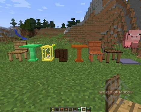 Decoration Mega Pack [1.8] for Minecraft
