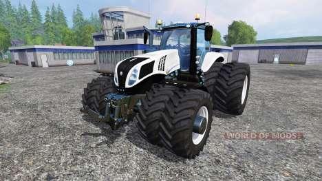 New Holland T8.320 Dynamic8 v1.2 for Farming Simulator 2015
