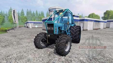 MTZ 82 forest for Farming Simulator 2015