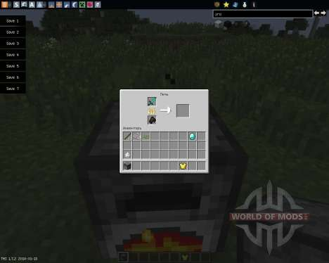 Armor Smelter [1.7.2] for Minecraft