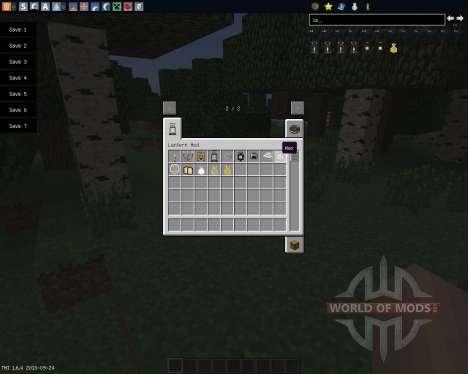 Lanterns and Flashlights [1.6.4] for Minecraft