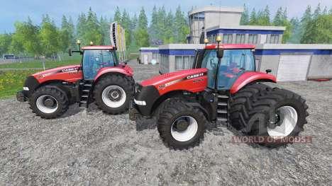 Case IH Magnum CVX 380 twin pack shader v1.2b for Farming Simulator 2015