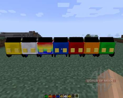 Javal Cars [1.7.2] for Minecraft