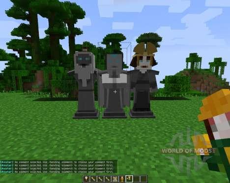 Avatar: The Last Blockbender [1.7.2] for Minecraft