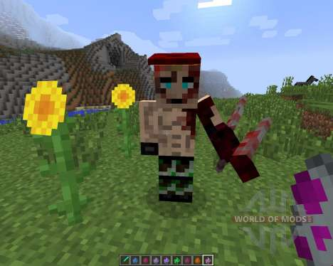 The Resident Evil [1.7.2] for Minecraft