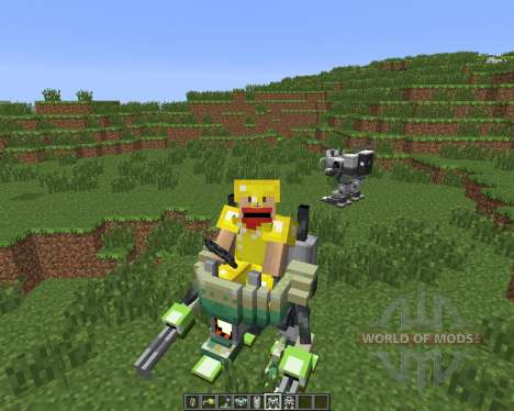 Magitek Mechs [1.6.4] for Minecraft