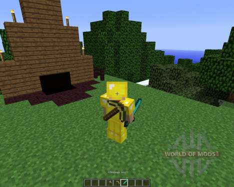 Back Tools [1.5.2] for Minecraft