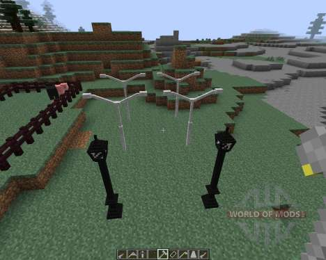 Lamps And Traffic Lights [1.7.2] for Minecraft