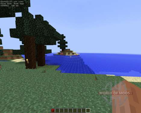 No More F3 for Minecraft