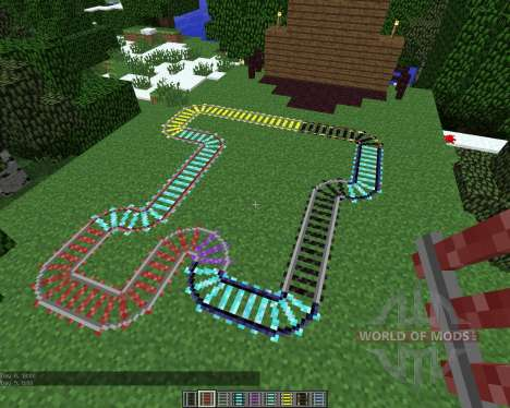 Expanded Rails [1.5.2] for Minecraft