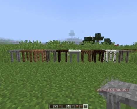 Fancy Tables for Minecraft