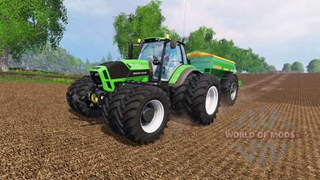 Deutz-Fahr Agrotron 7250 Dynamic8 v1.3 for Farming Simulator 2015