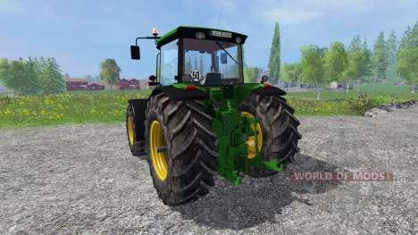 John Deere 8530 v2.0 fixed for Farming Simulator 2015