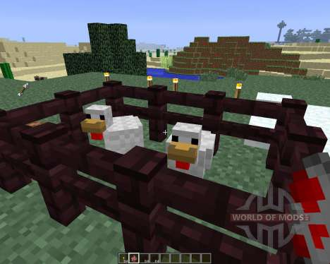 ChickenShed [1.6.4] for Minecraft