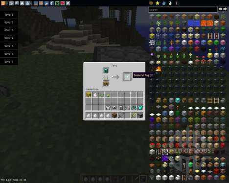 Recycle Items Plus [1.7.2] for Minecraft