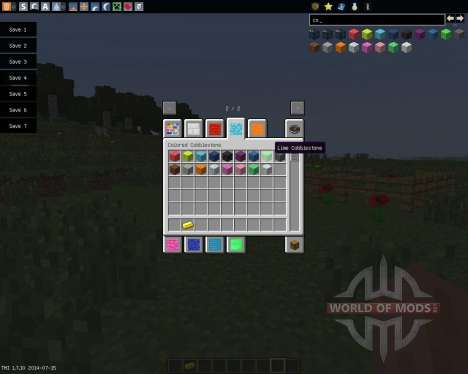 Colored Blocks [1.7.10] for Minecraft