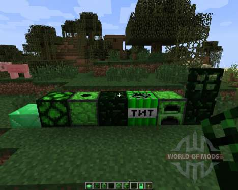 Emerald [1.7.2] for Minecraft