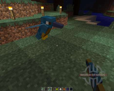 Exotic Birds [1.8] for Minecraft