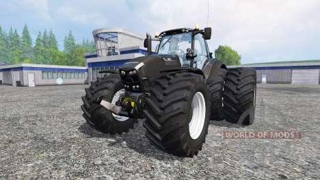 Deutz-Fahr Agrotron 7250 wdtrw v1.3 blackedition for Farming Simulator 2015