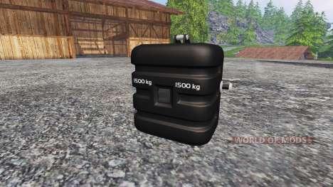 Deutz-Fahr 1500 v2.0 washable for Farming Simulator 2015