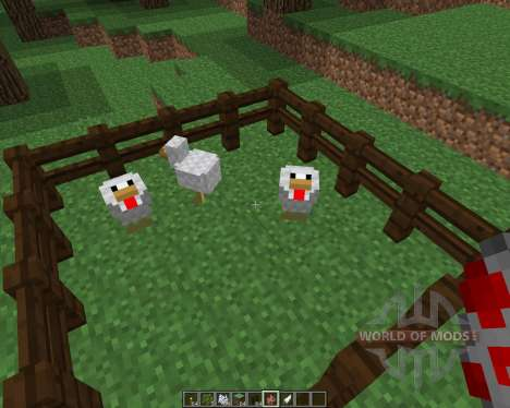ChickenShed [1.8] for Minecraft